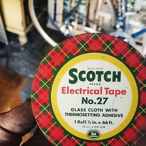 Scotch's No. 27 Garage Clearout Scotchtape Tartan