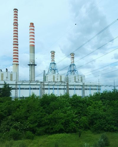 Factory Chimney Factory Industry Vs Nature Industrial Landscapes Industrial Photography Industry