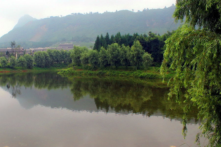 Cultural Art Cultural Heritage Cultural Site Of Han Dynasty Culturalrelic Scenery Scenery Shots Scenic View Scenics Scenic China China,Guizhou Colourful Tranquility Light And Reflection