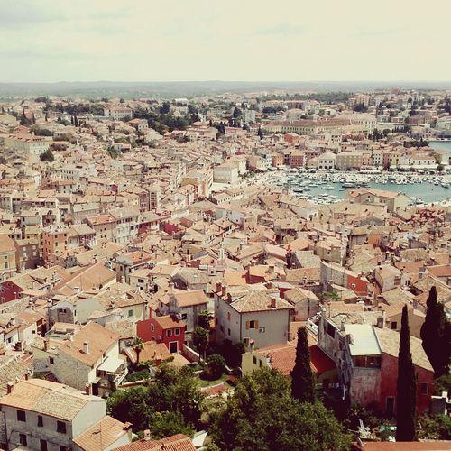 Houseroof Aerial View Croatia Rovijn