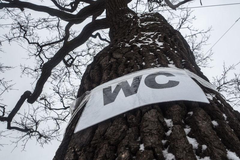 Wc табличка