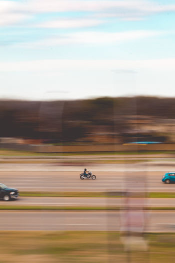 fast life Fast Fast Cars Speed Speeding Fast Life Motorcycle Motor Vehicle Blur Panning Adrenaline Wind Freedom Free Hot Day Adventure Fun Enjoying Life Travel Road Highway Highways&Freeways Oil Pump Motion Sunset Flying Speed Blurred Motion Car Multi Colored Sky