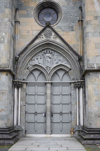 Nidarosdomen cathedral kings doors Door Of A King Kingdoor Door Old Door Medieval Entrance Architecture Built Structure Building Exterior Entrance Building Arch Place Of Worship No People Religion History The Past Closed Gothic Style Nidarosdomen Nidaros Cathedral Nidarosdommen Nidaros