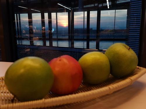 First Eyeem Photo Nofilter Frankfurt Airport Sunrise Business Lounge