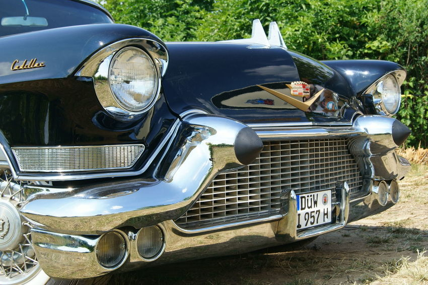 Black Car Car Show Cars Day Headlight Mode Of Transport Muscle Cars Outdoors US Cars V8