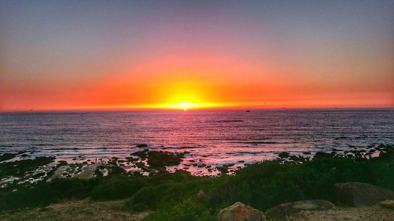 Sunset so beautiful, feels like a dream. Beach Sunshine Relaxing Enjoying The Sun Taking Photos Enjoying Life Nourscreations Achakar Tanger  Morocco MoroccoTrip