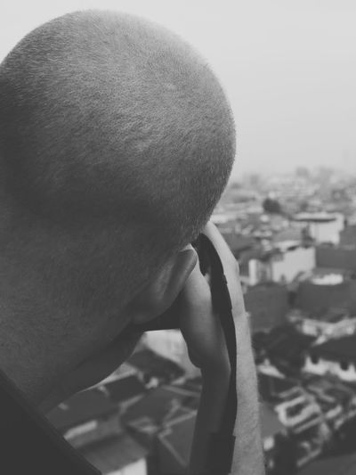 Photographer One Person Headshot Human Body Part Man Adult Shaved Head Black And White Friday Portrait Black And White Photography The Week On EyeEm Black And White EyeEm Selects EyeEmNewHere Be. Ready. An Eye For Travel Mobility In Mega Cities This Is Masculinity Modern Workplace Culture Stories From The City Completely Bald Balding Head And Shoulders Caucasian Go Higher Focus On The Story Adventures In The City This Is My Skin Small Business Heroes