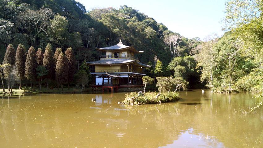 Brazilian replica of japanese Kinkaku -ji temple, located near São Paulo.
