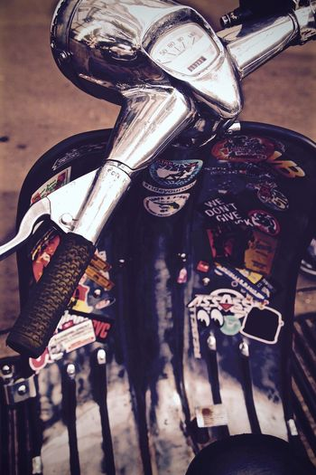 Close-up Colors Day Photography Shine Stikers Streetphotography Vespa