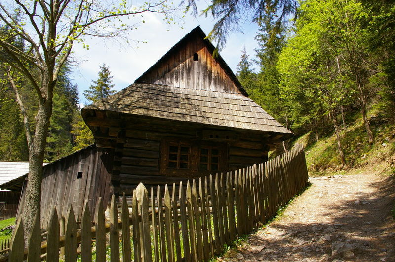Kvačianska dolina- beautiful nature :) Architecture Built Structure Grass No People Old Sky Sunny Day☀ Tree Turist Trip