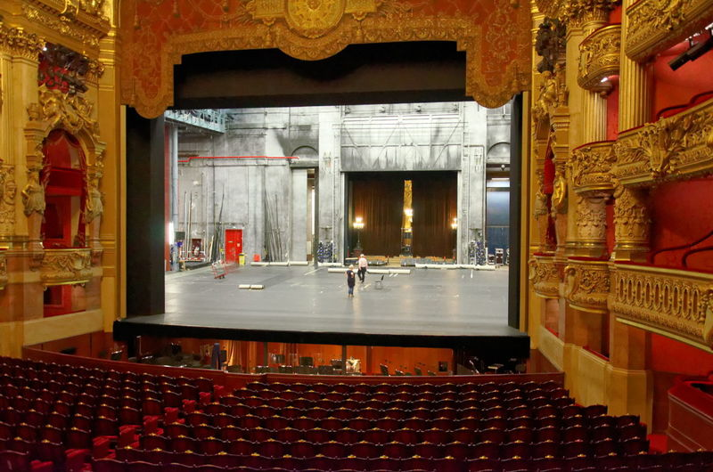 Architecture Coulisses Curtain Day Derrier Le Rideau Home Interior Indoors  Luxury No People Opera Garnier Operahouse Opéra Palais Ganier