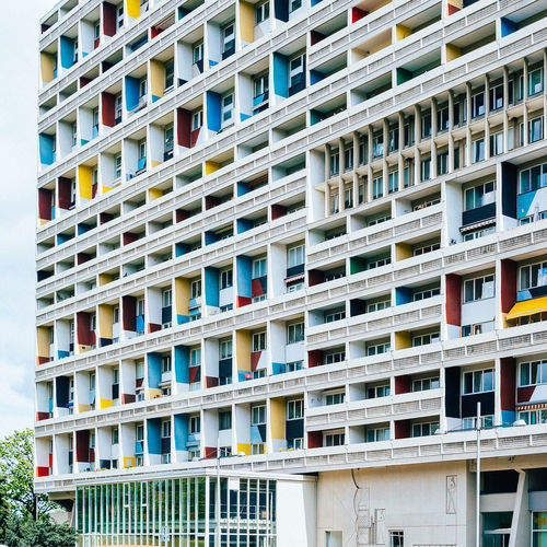 LC #02 Apartment Architectural Feature Architecture Architecture Balcony Berlin Built Structure City City Life Colour Of Life Corbusierhaus Day Façade In A Row Le Corbusier Lecorbusier Living Modern No People Outdoors Repetition Residential Building Residential Structure Side By Side Unité D'Habitation