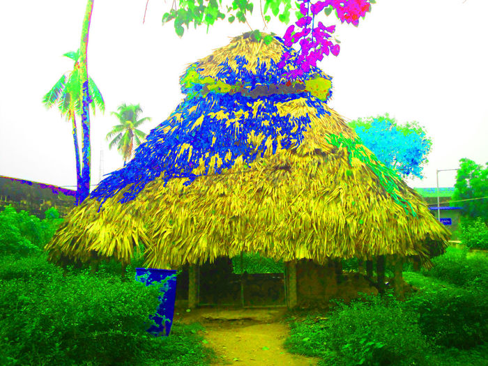 Andhra Pradesh Blue Sea Blue Wave Green Color Houses Indian Indian Hut Loneliness Nature Beauty In Nature Houses And Windows Hut Lonely House Lonely Hut Multi Colored Yellow Flowers Baskark1958@gmail Monumental Buildings Monument Valley Indian Monuments Temple Architecture Devotional Place Indian Trees Temples Of India Tourism
