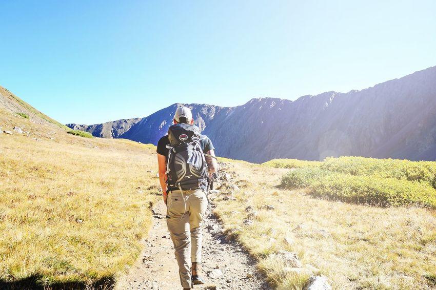 Forward motion Mountain Mountain Range Exploration Backpack Hiking Hikingadventures