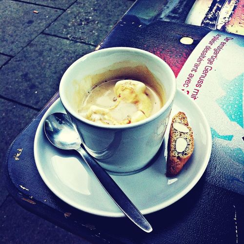 Coffeediary ice presso spreading....