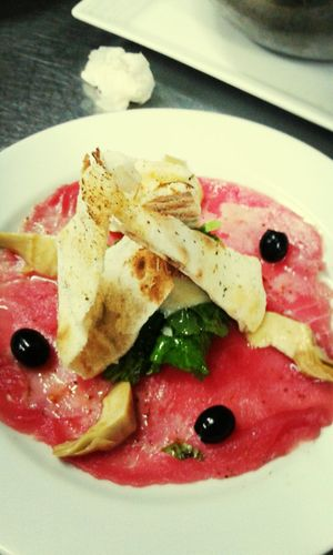 Tuna carpaccio By Frank Eating Good Service That's Me