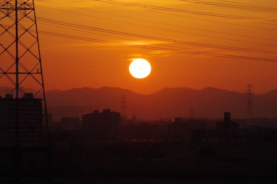 Sunrise 淀川