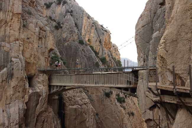 Alfonso XIII Bridge - Man Made Structure Caminito Del Rey Mountains Nature Photography Nature_collection Outdoors Panoramic Photography Pantano Pasarelas Pasarelas Colgantes Go Higher
