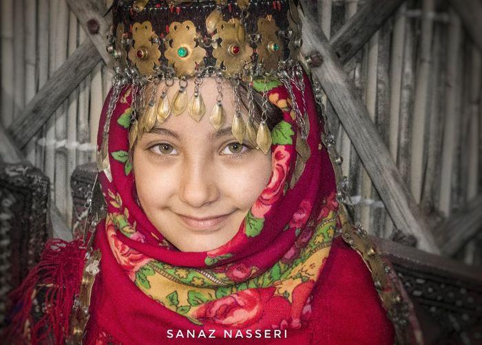 Little Little Girl Portrait Girl Portrait Nice Portrait Girl In Red Lovely Girl Red Scarf Persian Girl Iran Shot Iran Turkmens Turkmen Turkmen Girl Color Palette