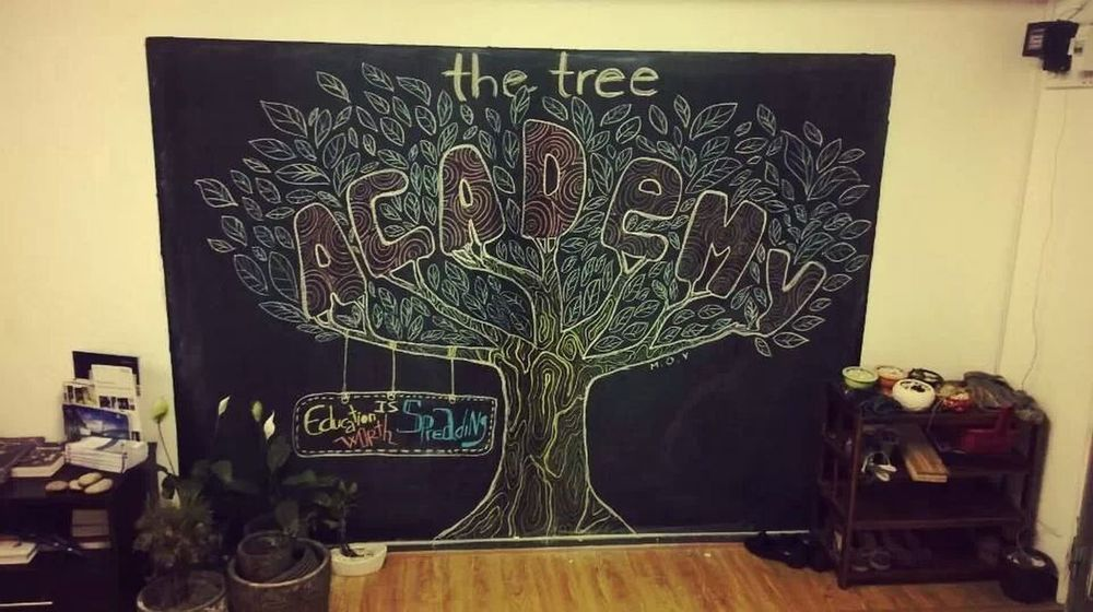 The Tree Academy, created by our crew :3 The Tree Academy Enjoying Life Working