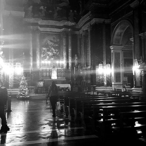 Illuminated Indoors  Architecture Church Rome Italy🇮🇹 Rome