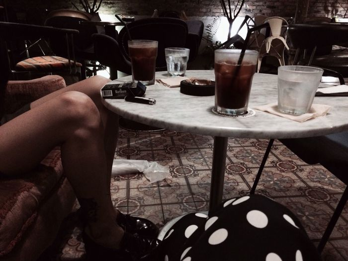 Coffee And Cigarettes Cafe Americano Iced Coffee On A Date