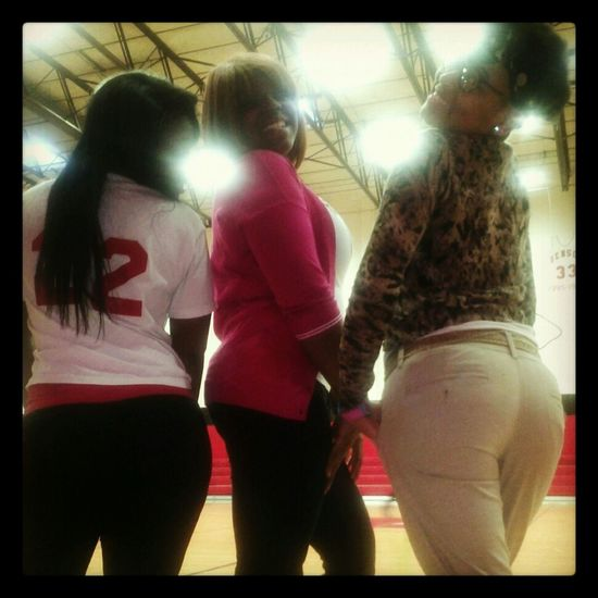 we cute ! asses FAT! lhh #whomad??