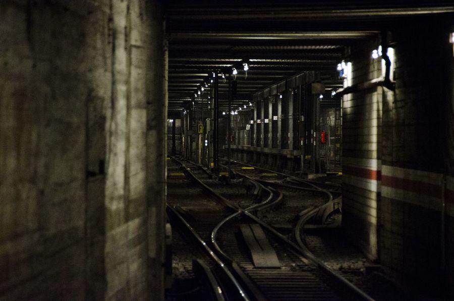 Berlin Geister im u-bahn-Tunnel