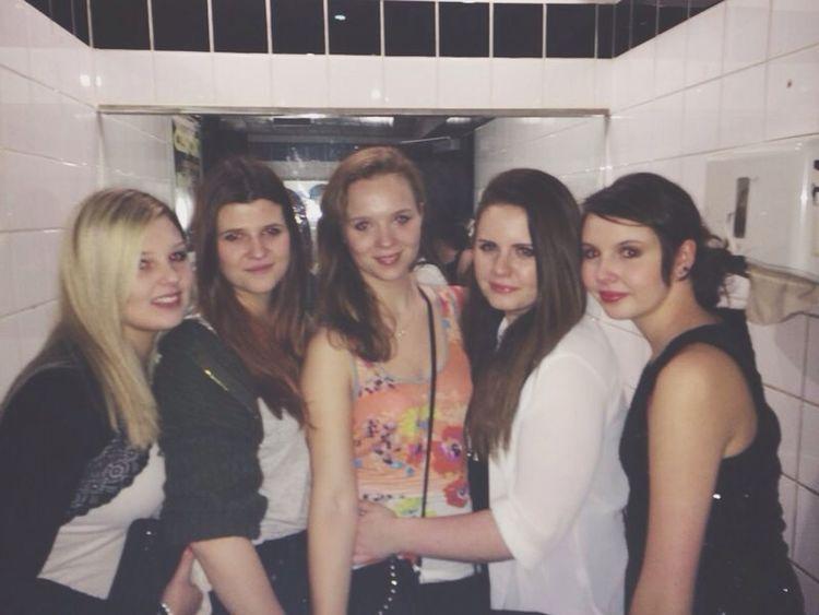 Friends Party Enjoying Life Girls