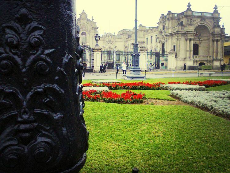 Palacio de gobierno. Hello World Lima-Perú Traveling