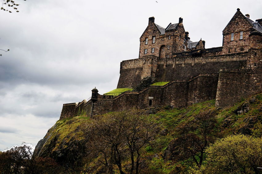 Edinburgh NEX-5T Scotland Ancient Ancient Civilization Architecture Building Exterior Built Structure Castle Day History Low Angle View Nature No People Outdoors Sky Sony Travel Travel Destinations