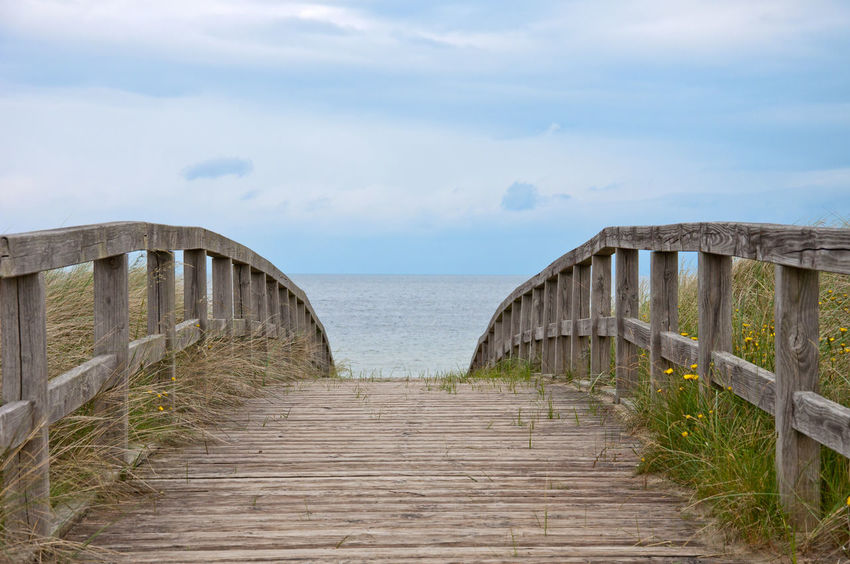 Baltic Sea EyeEm Nature Lover EyeEmNewHere The Week On EyeEm Architecture Beauty In Nature Built Structure Cloud - Sky Day Horizon Over Water Nature No People Outdoors Pier Scenics Sea Sea And Sky Sea View Sky The Way Forward Tranquility Water Way Wood - Material