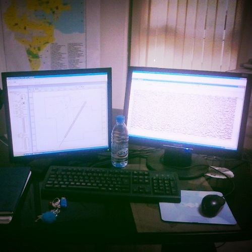 Morning feom my Work station ;) Office Pfe Morning Nice Day