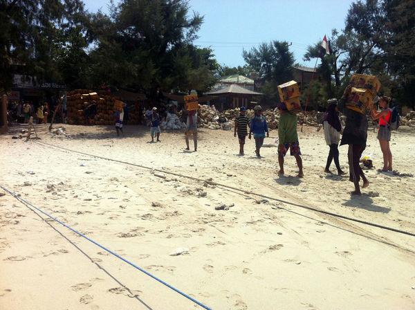 Boat Delivery Gili Islands Gili T Gili Trawangan Gili Trawangan 2016 Gili Trawangan Beach North Lombok Island - Indonesia . Giliislands Gilitrawangan  Indonesia 2016 Island Life Islandlife Supplies