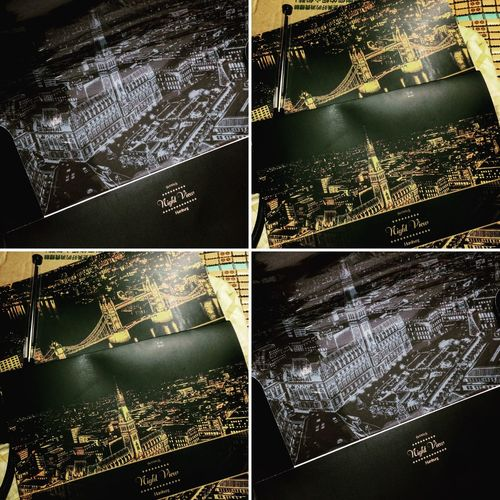 New stuff!!!! Scratch night view~ Bought two cities, Hamburg and London (love so much☺️☺️☺️) Looking forward to starting scratching!!!!! Scratch Scratch Night View New Stuff Night View