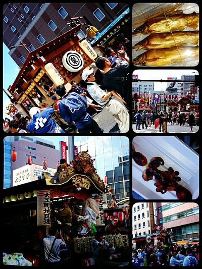 Festival 祭り 黄門祭り Mito-shi 御神輿楽しんできましたー😆🎶