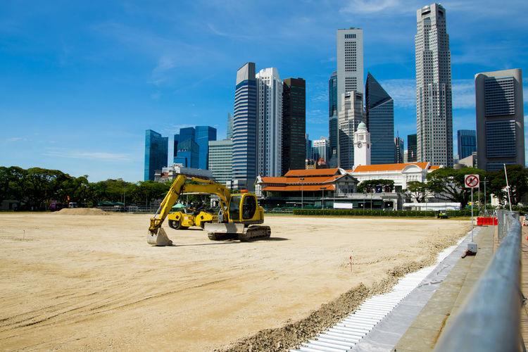 Construction in Singapore Singapore Development Construction Industry City Construction Machinery Machinery Construction Equipment