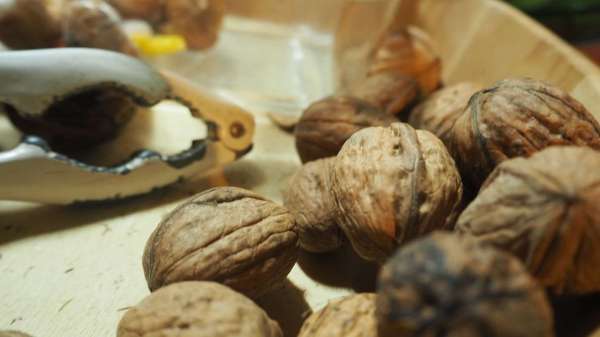 Nuts Nutshell Nut - Food Nutcrackers Food And Drink Food Healthy Eating No People Indoors  Freshness Close-up