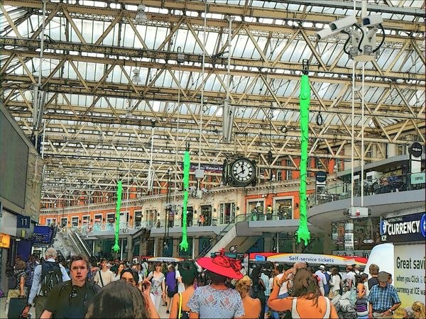 Colour Of Life Waterloostation London Uk Ghostbusters Color Palette