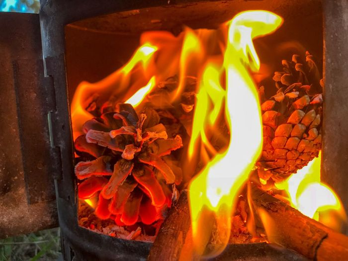 Burning Burning Burning Fire Flame Heat - Temperature Fire - Natural Phenomenon Nature Log Firewood Orange Color Glowing Wood Motion No People Coal Outdoors Fire Pit Wood - Material Close-up Fireplace Wood Burning Stove