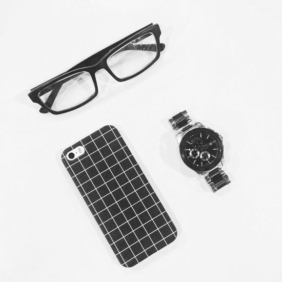 Grid IPhone Iphonecase Simple Photography Simple Blackandwhite Watch Glasses