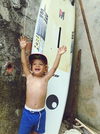 Surferboy  Real People Childhood Boys One Person Happiness Lifestyles