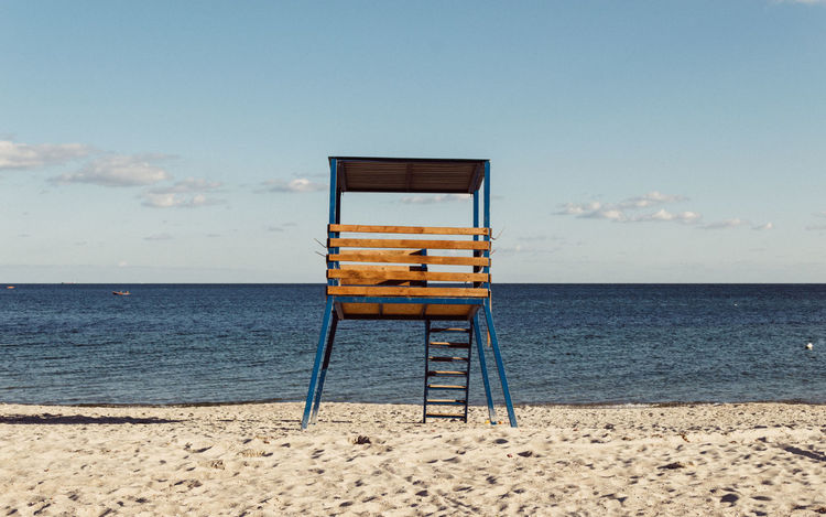 observation deck Absence Beach Beach Photography Black Sea Cost Day Observation Observation Deck Sand Sea Seaside Wood Wooden