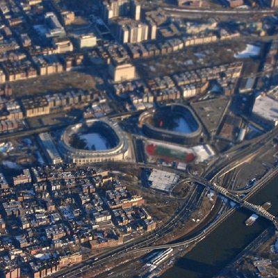 Love Newyork Yankees Aerial