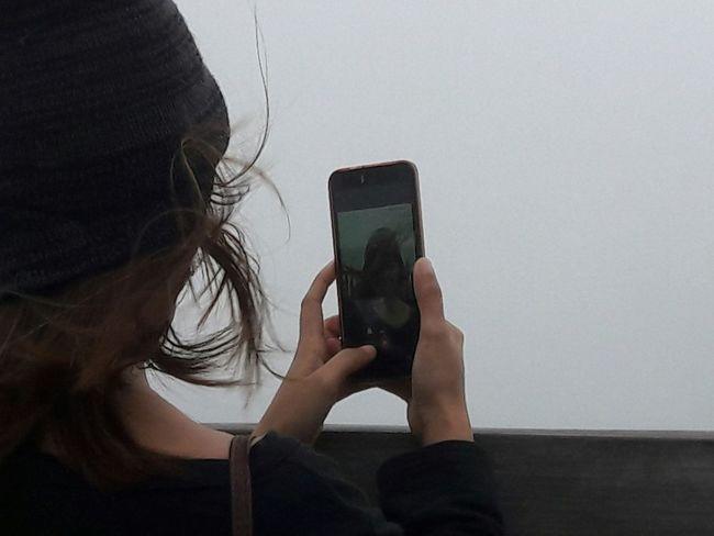 drewbarryjane SamsungJ7 Samsungj7photography Nofilter Mobileshot Tagaytayfog Selfie Time Selfie :) Stolenshot Stolenmoments Windy Windy Day Vacation Stolen Rjdr Rigosentertainment