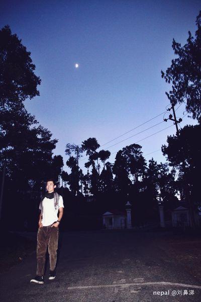 Memory Of Travel 2014 Nepal Model wear the moonlight 尼泊尔的月光下