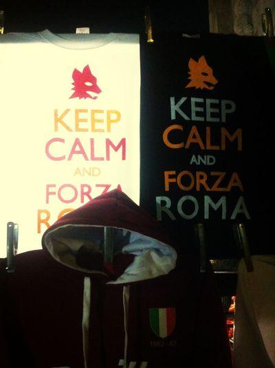Forzaroma Asroma Keepcalm Forza Roma