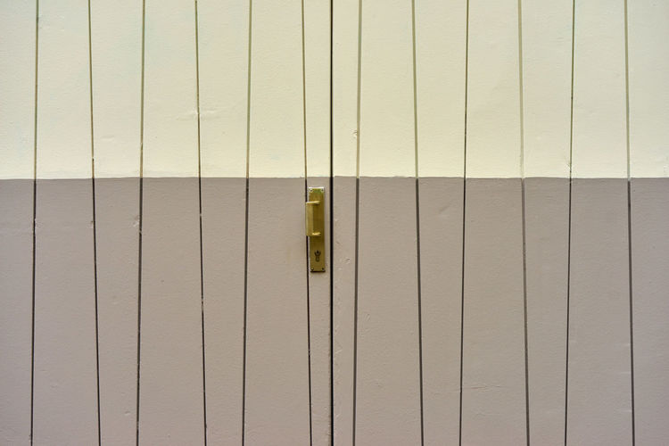 Architecture Built Structure Close-up Corrugated Iron Day Locker Room Metal No People Outdoors Pattern Protection Safety Security
