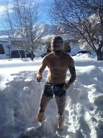 Snow Crazy Moments Vegansofig VEGANLIFE Vegans Crazy Face Georgia Mountains Vegan -14°C