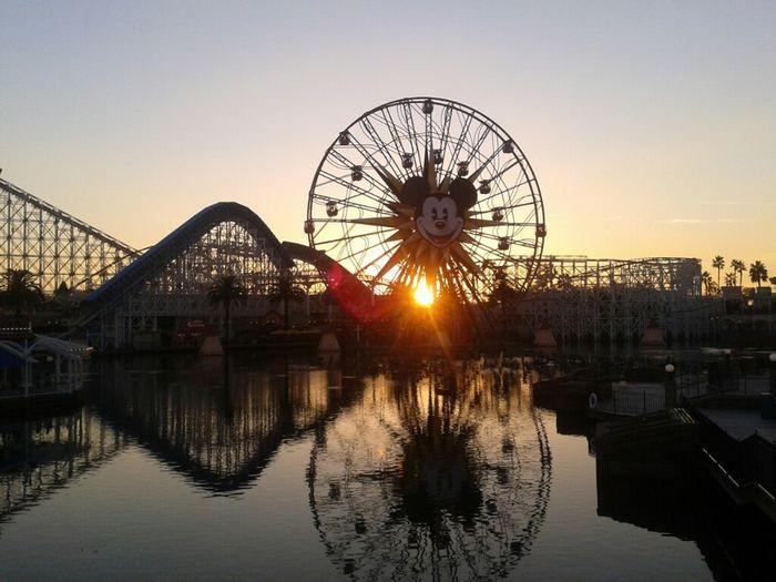 Sunset on paradise pier !!!